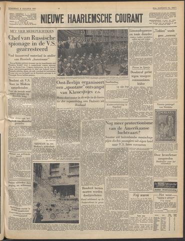 Nieuwe Haarlemsche Courant 1957-08-08