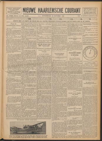 Nieuwe Haarlemsche Courant 1929-10-10
