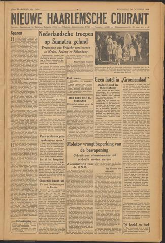 Nieuwe Haarlemsche Courant 1946-10-30