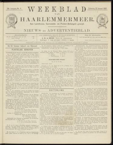 Weekblad van Haarlemmermeer 1887-01-22