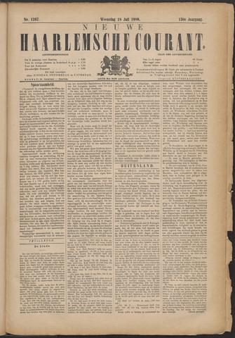 Nieuwe Haarlemsche Courant 1888-07-18