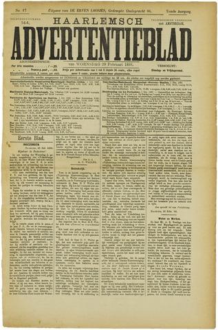 Haarlemsch Advertentieblad 1888-02-29