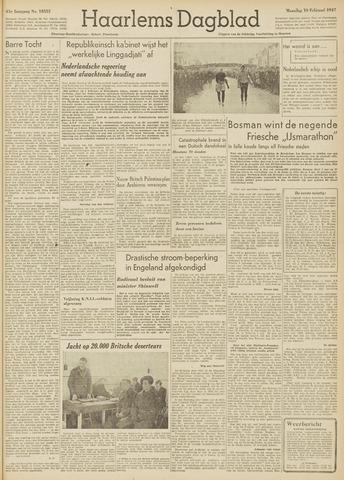 Haarlem's Dagblad 1947-02-10