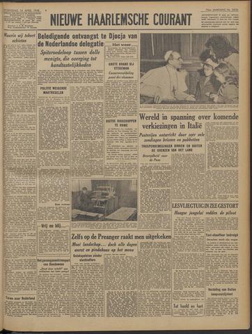 Nieuwe Haarlemsche Courant 1948-04-14