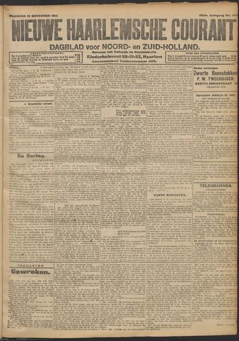 Nieuwe Haarlemsche Courant 1914-11-16