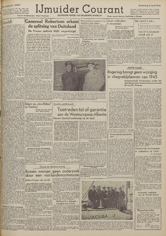 IJmuider Courant 1948-04-08