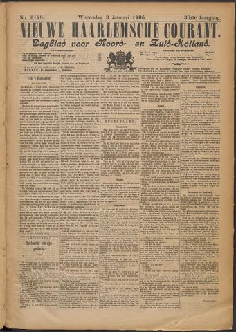 Nieuwe Haarlemsche Courant 1906-01-03