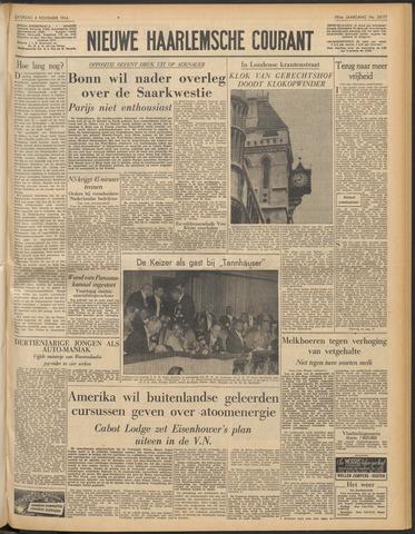 Nieuwe Haarlemsche Courant 1954-11-06