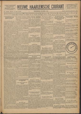 Nieuwe Haarlemsche Courant 1928-04-25