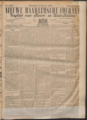 Nieuwe Haarlemsche Courant 1900-01-15