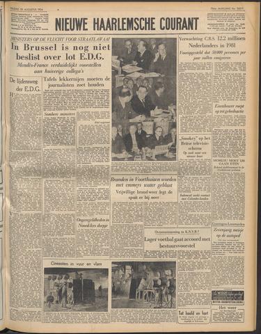Nieuwe Haarlemsche Courant 1954-08-20