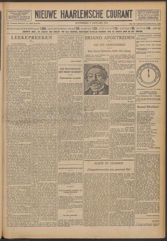 Nieuwe Haarlemsche Courant 1932-01-09