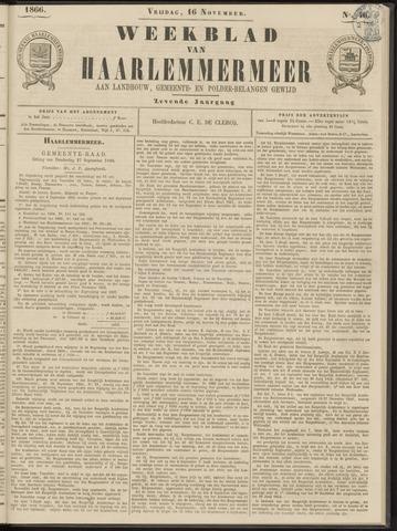 Weekblad van Haarlemmermeer 1866-11-16