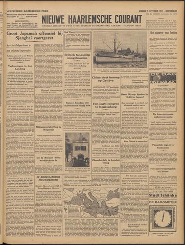 Nieuwe Haarlemsche Courant 1937-09-07