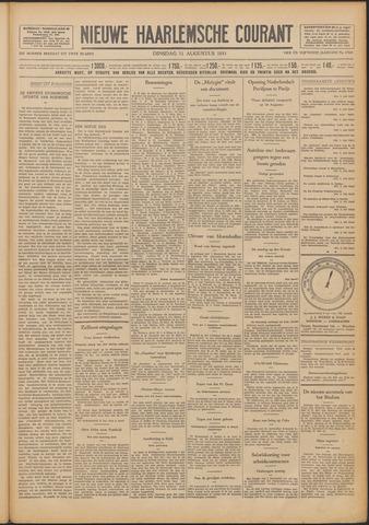Nieuwe Haarlemsche Courant 1931-08-11