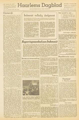Haarlem's Dagblad 1945-11-07