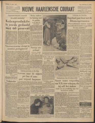 Nieuwe Haarlemsche Courant 1957-04-02