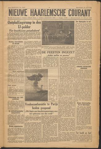 Nieuwe Haarlemsche Courant 1946-07-29