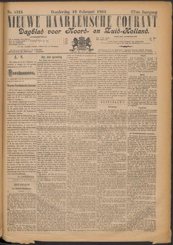 Nieuwe Haarlemsche Courant 1903-02-19