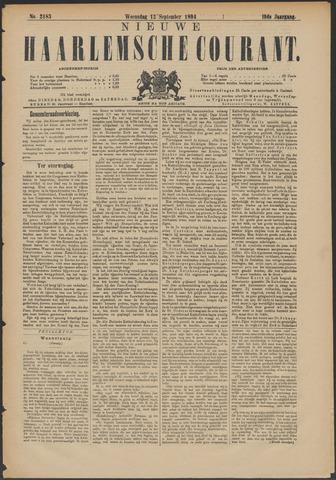 Nieuwe Haarlemsche Courant 1894-09-12
