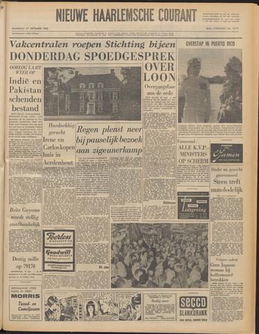 Nieuwe Haarlemsche Courant 1965-09-27