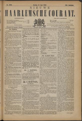 Nieuwe Haarlemsche Courant 1893-06-18