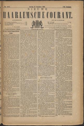 Nieuwe Haarlemsche Courant 1892-11-27
