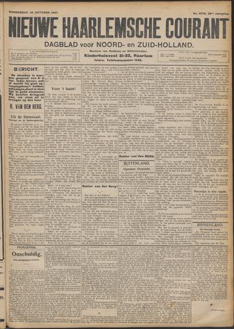 Nieuwe Haarlemsche Courant 1907-10-24