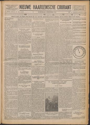 Nieuwe Haarlemsche Courant 1929-12-04