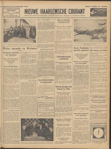 Nieuwe Haarlemsche Courant 1938-11-07