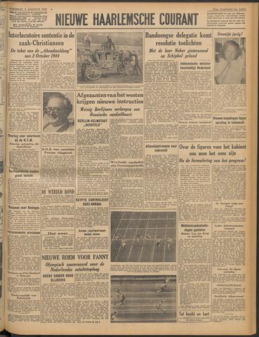 Nieuwe Haarlemsche Courant 1948-08-05