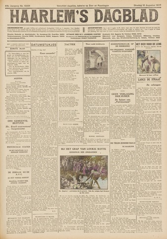 Haarlem's Dagblad 1926-08-10