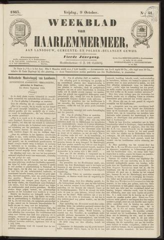 Weekblad van Haarlemmermeer 1863-10-09