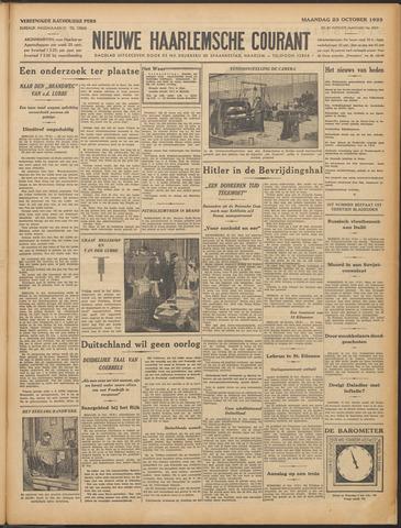 Nieuwe Haarlemsche Courant 1933-10-23