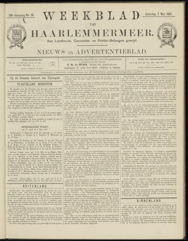 Weekblad van Haarlemmermeer 1887-05-07