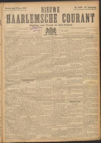 Nieuwe Haarlemsche Courant 1907-01-10