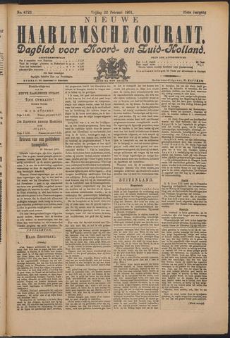 Nieuwe Haarlemsche Courant 1901-02-22