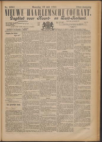 Nieuwe Haarlemsche Courant 1905-07-10