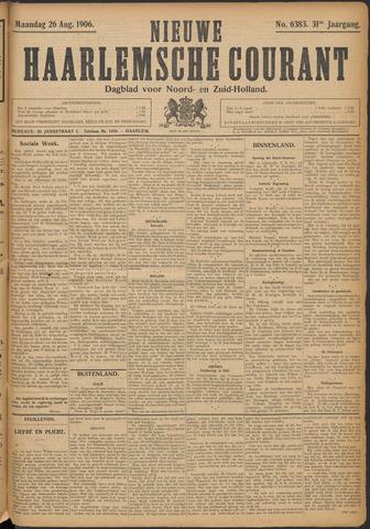 Nieuwe Haarlemsche Courant 1906-08-27