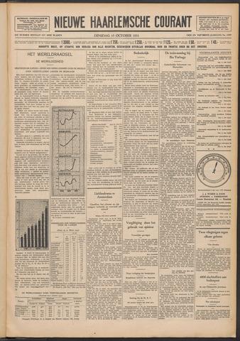 Nieuwe Haarlemsche Courant 1931-10-13
