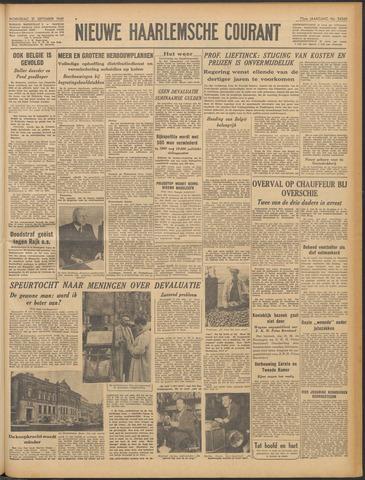Nieuwe Haarlemsche Courant 1949-09-21