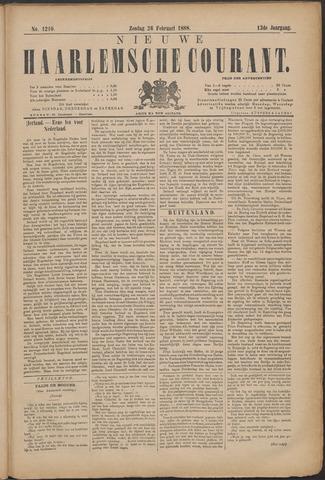 Nieuwe Haarlemsche Courant 1888-02-26