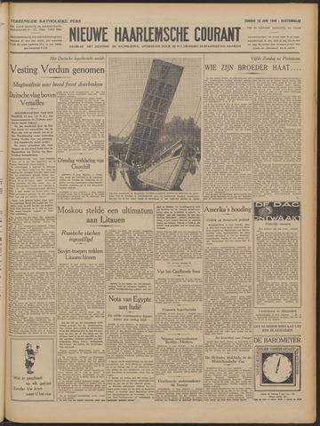 Nieuwe Haarlemsche Courant 1940-06-16