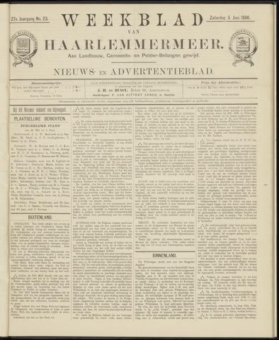 Weekblad van Haarlemmermeer 1886-06-05
