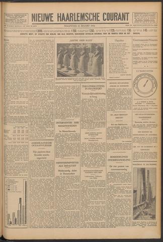 Nieuwe Haarlemsche Courant 1932-03-21