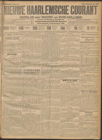 Nieuwe Haarlemsche Courant 1914-07-09