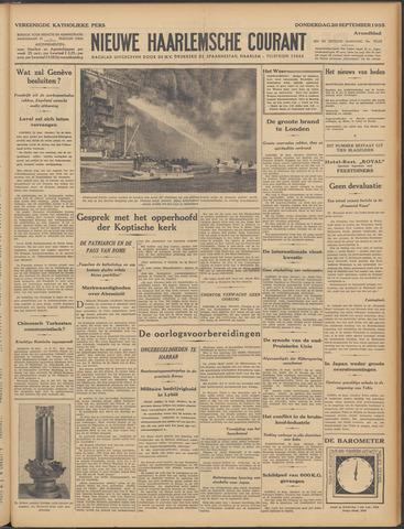 Nieuwe Haarlemsche Courant 1935-09-26