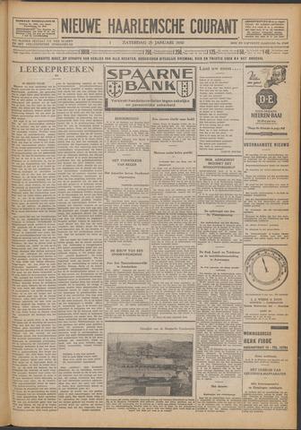Nieuwe Haarlemsche Courant 1930-01-25