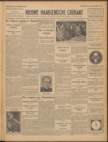 Nieuwe Haarlemsche Courant 1933-09-02