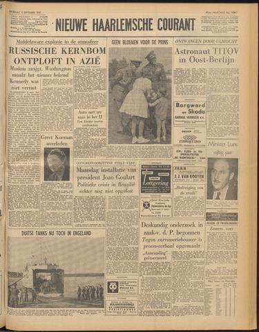 Nieuwe Haarlemsche Courant 1961-09-02